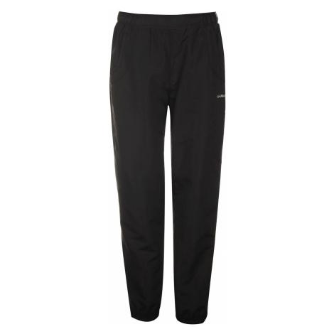 LA Gear Hem Woven Pants Ladies Black