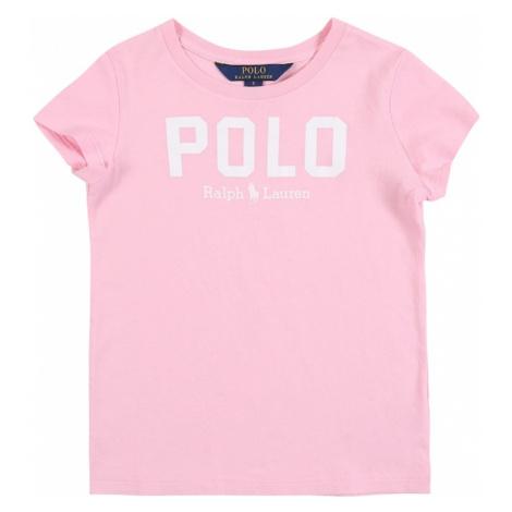 POLO RALPH LAUREN Tričko  ružová
