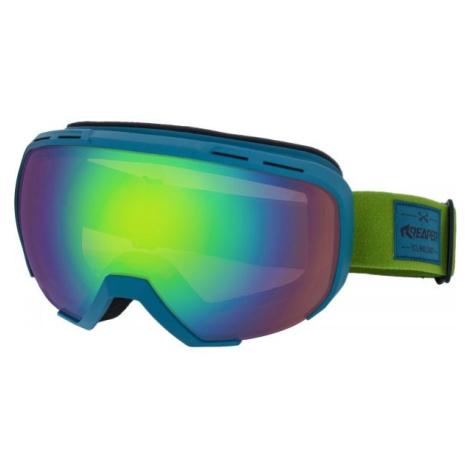 Reaper SOLID zelená - Snowboardové okuliare
