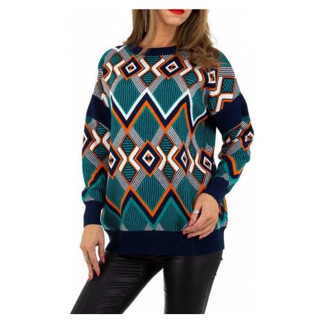 Dámsky vzorovaný pulóver