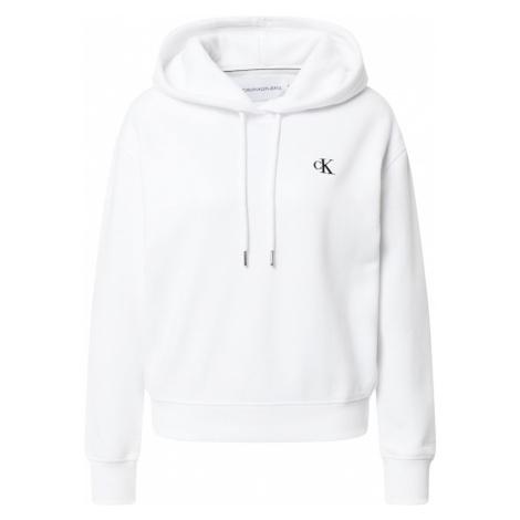 Calvin Klein Jeans Mikina  biela