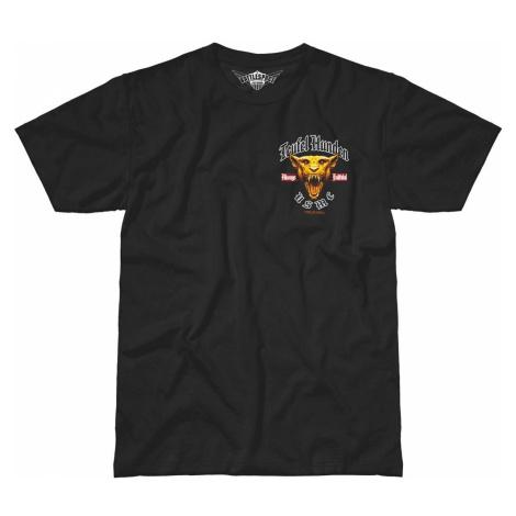 Pánske tričko 7.62 Design® USMC Devil Dog - Teufel Hunden - čierne