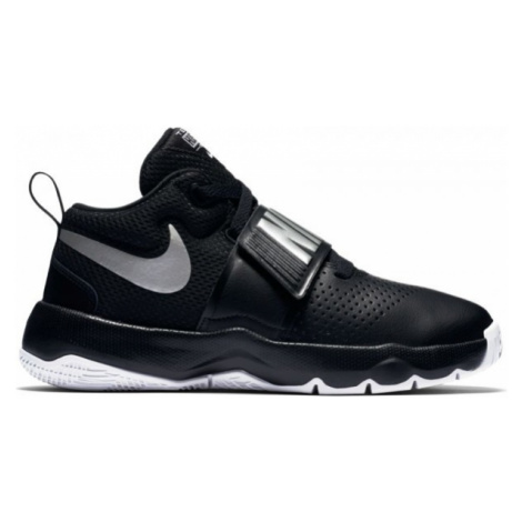 Nike TEAM HUSTLE D 8 GS čierna - Basketbalová obuv