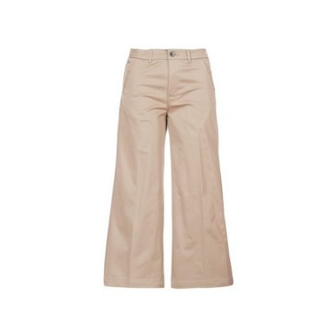 G-Star Raw BRONSON HIGH LOOSE CHINO 7/8 WMN Béžová