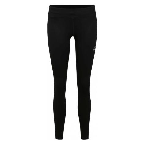 ASICS Športové nohavice  čierna / biela