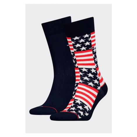 Tommy Hilfiger 2 balenie ponožky pánske - usa