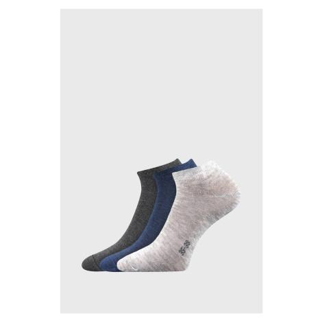 3 PACK dámskych ponožiek Hoho viacfarebná Boma