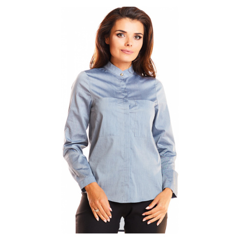 Sivá košeľa A249 Awama