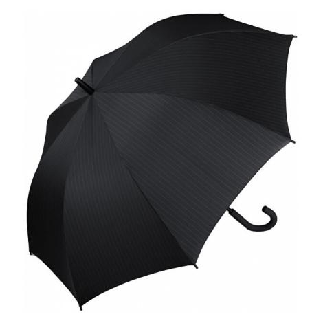 Esprit Pánsky palicový dáždnik Gents Long AC Needle Stripe Black