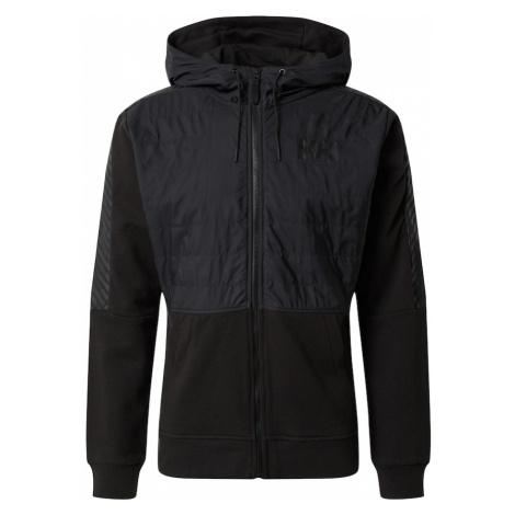HELLY HANSEN Prechodná bunda 'STRIPE HYBRID'  čierna