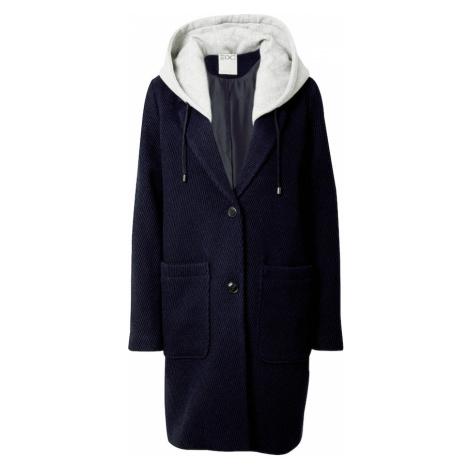 EDC BY ESPRIT Prechodný kabát  námornícka modrá / biela