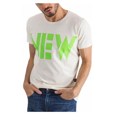 Smotanové pánske tričko new MECHANICH