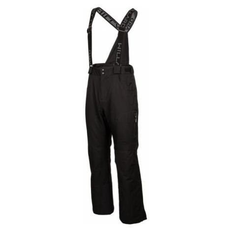 Willard EMO čierna - Pánske lyžiarske nohavice