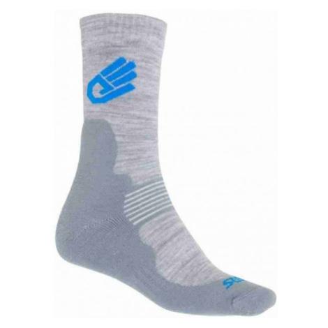 Sensor EXPEDITION MERINO šedá - Ponožky