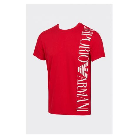 Emporio Armani Underwear Emporio Armani tričko pánske - červená Veľkosť: S