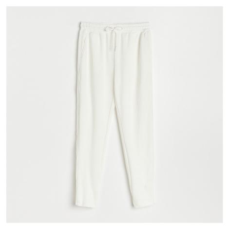 Reserved - Teplákové nohavice - Krémová