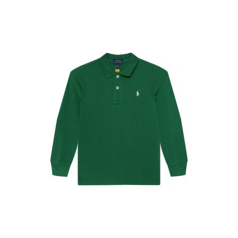 Polo Ralph Lauren Polokošeľa Ls Kc 322703634023 Zelená Regular Fit