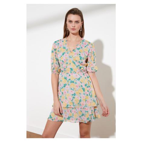 Trendyol Multicolored Belt Dress
