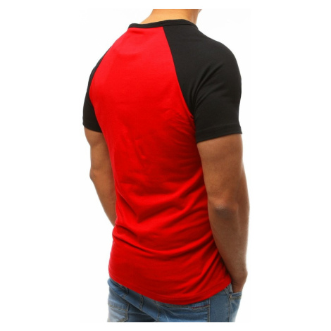 Red RX3517 men's T-shirt with print DStreet
