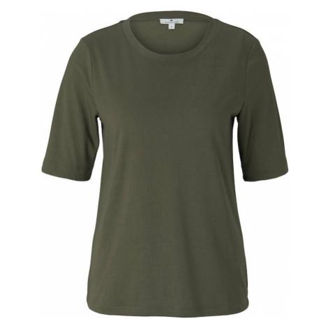 TOM TAILOR Tričko  zelená