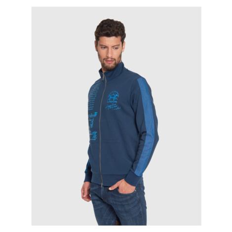 Mikina La Martina Man Full Zip Compact Fleece