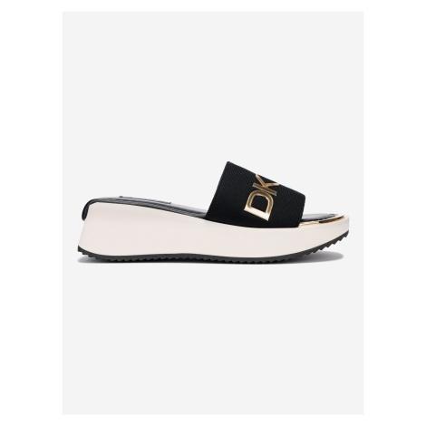 Mandy Pantofle DKNY Čierna
