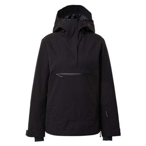 OAKLEY Outdoorová bunda  čierna