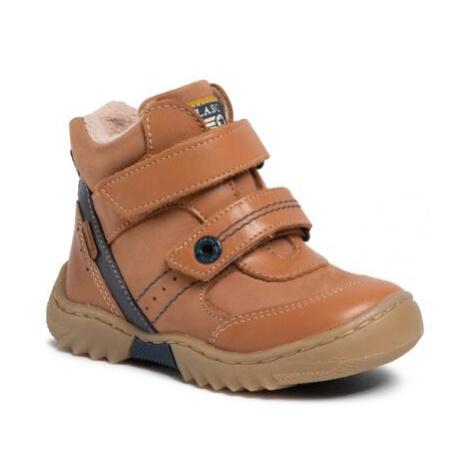 Šnurovacia obuv Lasocki Kids CI12-FLICK-02 Prírodná koža(useň) - Lícova