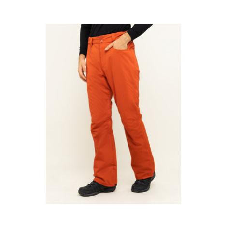 Billabong Snowboardové nohavice Outsider Q6PM08 BIF9 Červená Regular Fit