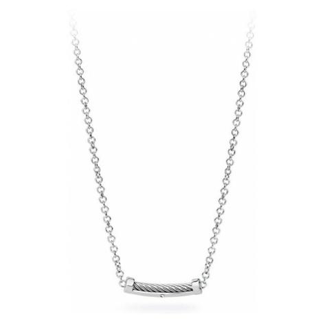 S`Agapõ Pánsky oceľový náhrdelník Pole SPO01 S'Agapõ
