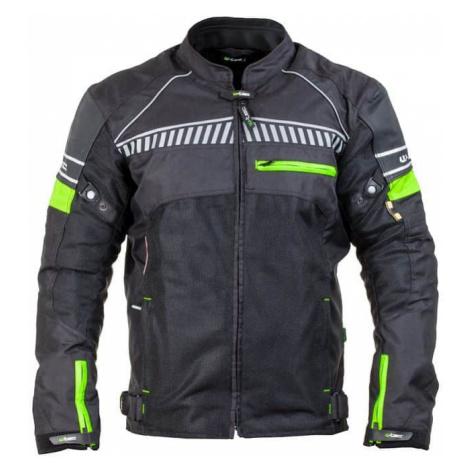Pánska moto bunda W-TEC Meltsch NF-2301 Farba neon zelená-čierna