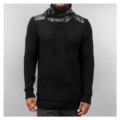 Bangastic Knitted Sweater Black - Veľkosť:S