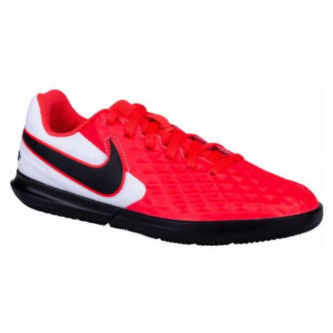 Nike JR TIEMPO LEGEND 8 CLUB IC červená - Detské kopačky