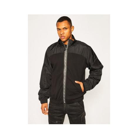 MCQ Alexander McQueen Prechodná bunda 577189 ROT29 1000 Čierna Regular Fit