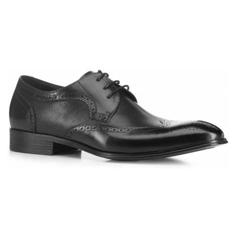 Pánske topánky v čiernom prevedení Wittchen