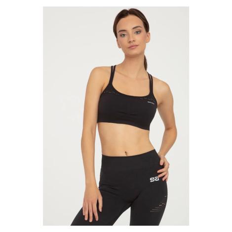 Čierny top fitness push-up GA Gatta