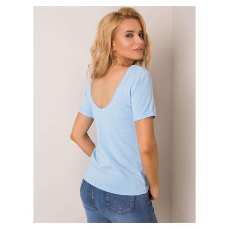 Tyrkysové tričko s krátkym rukávom