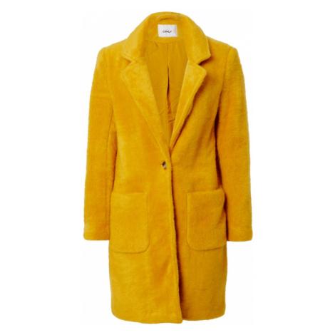 ONLY Prechodný kabát 'Claire'  žltá