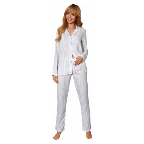 Dámske pyžamo Rossli Angelina SAL-PY-1173 White LL Bílá