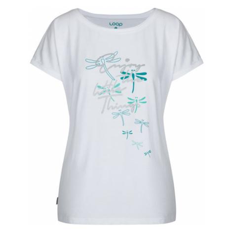 ADLIA women's t-shirt / short sleeve white LOAP