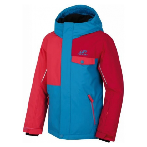 Hannah TIMUR JR červená - Detská lyžiarska bunda