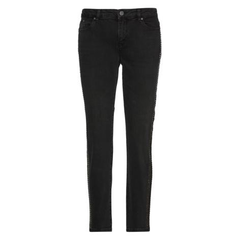Džínsy Karl Lagerfeld Sparkle Tape Denim Pants