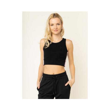 Guess Top Linda W01P96 K9JE0 Čierna Slim Fit