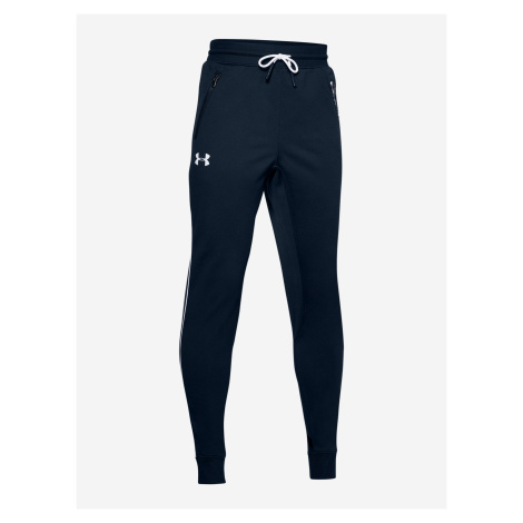Tepláky Under Armour Pennant Tapered Pants Modrá