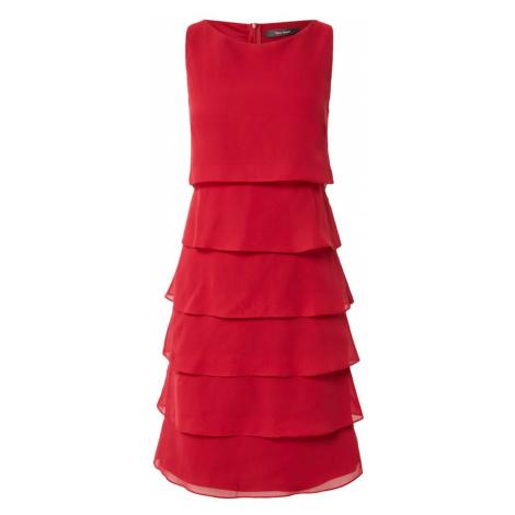 Vera Mont Kokteilové šaty  karmínovo červená