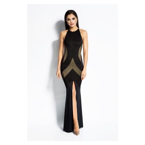 Čierno-zlaté šaty Michelle Dursi