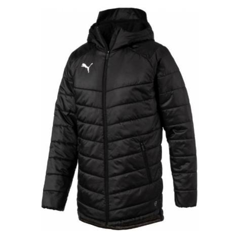 Puma LIGA SIDELINE BENCH JACKET čierna - Pánska zimná bunda