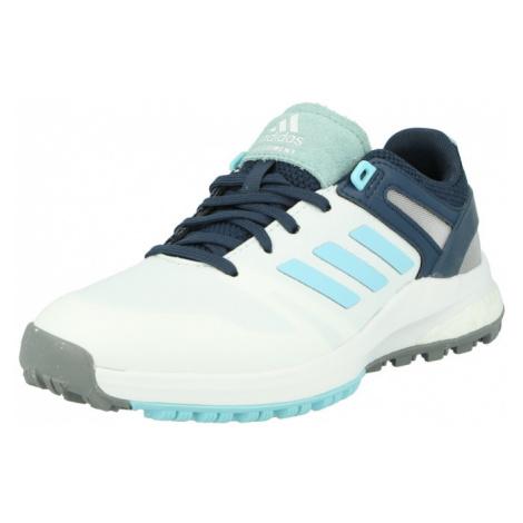 adidas Golf Športová obuv  biela / tyrkysová / námornícka modrá