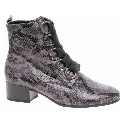 Dámská kotníková obuv Gabor 32.815.40 dark-grey 32.815.40