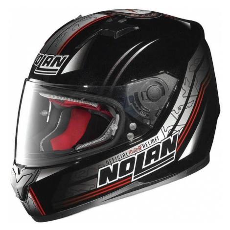 Moto prilba Nolan N64 Moto GP Metal Black